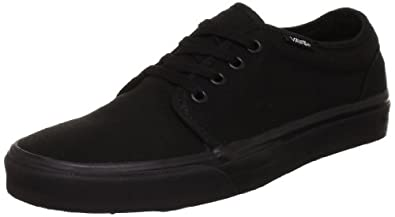 Vans Unisex-Adult Vulcanized Trainers, Black, 2.5 UK