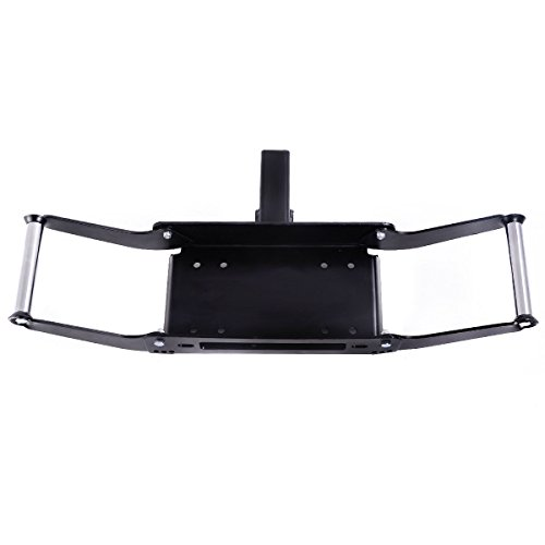 Great Deal! Goplus® 10 x 4 1/2 Cradle Winch Mounting Plate,15000 Lb Capacity, Winch Mount Recover...