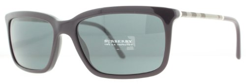 Burberry  Burberry 4137 326587 Dark Violet 4137 Wayfarer Sunglasses Lens Category 3