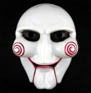 SAW ソウ ビリー人形風 マスク お面 ジグソウ キラー【コスプレ通販】イベントなどで活躍するコス。