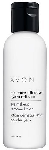 Avon Moisture Effective Eye Makeup Remover Lotion - LOT OF 2 - GREAT DEAL!