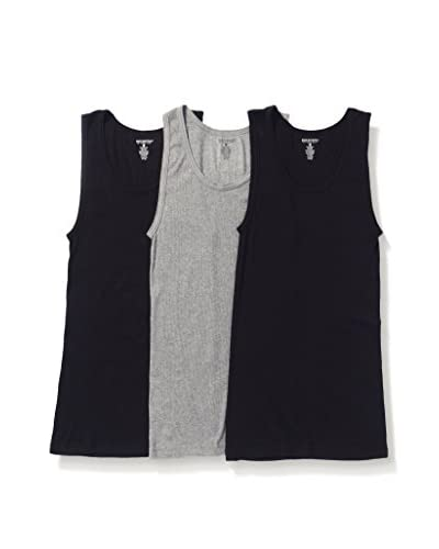 Basic/Outfitters Men's Rib Tank 3-Pack