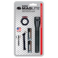 Mag Instrument Inc Blk Aa Flashlight Pack M2a01c Flashlight Aluminum