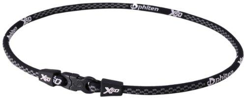 ファイテン(phiten) RAKUWAネックX50 ブラック 55cm 0208TF360254