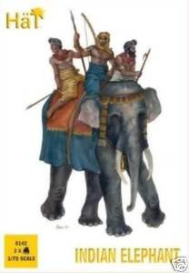 hat 1:72 indian elephant model figures 8142