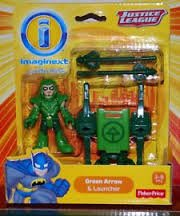 Imaginext Justice League - Green Arrow & Launcher