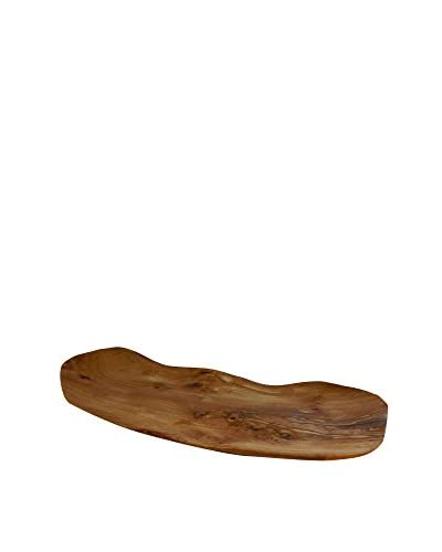 Le Souk Olivique Natural Form Small Olive Wood Platter