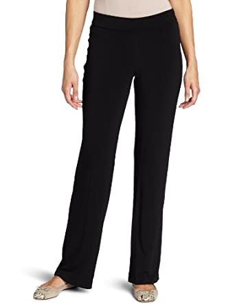 Rafaella Women's Modern Slim Pant, Black, Small