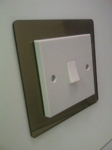 nest plastics ta wholesale pos co u2013 single light switch surround coloured acrylic decorative