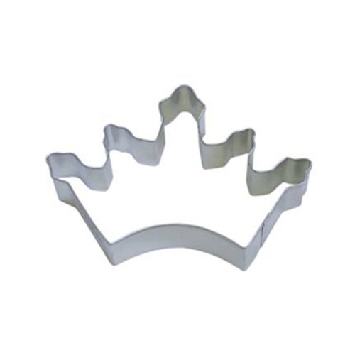 Dress My Cupcake DMC41CC0923SET Crown Coronation Cookie Cutter, 3.5-Inch, Set of 12