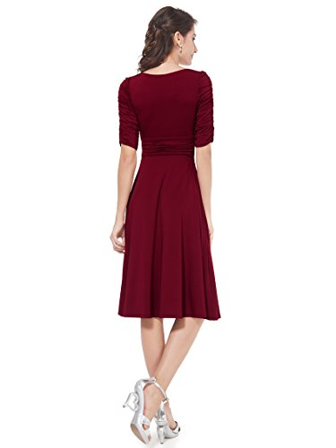 He03632bd18 Brick Red 16us Ever Pretty Wedding Guest