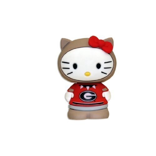 4GB USB Flash Drive - Hello Kitty + Georgia Bulldogs