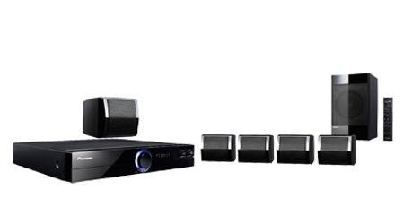 Pioneer Htz-121Dvd 110/220 Volts Home Theater System With Dvd Player