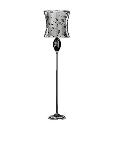PREMIER Lámpara de Pie Lacey Negro