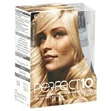 THREE PACKS of Clairol Nice N Easy Perfect 10 Lightest Blonde 10