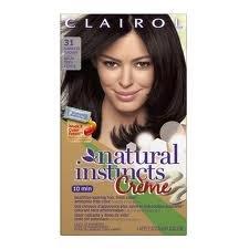Clairol Natural Instincts Cream Hair Color #31 Darkest Brown
