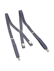 Adjustable Chambray Braces