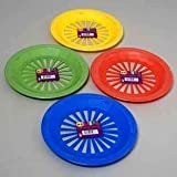 "10"" Reusable Plastic Paper Plate Holders - Set of 12"