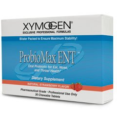 Xymogen Probiomax Ent Strawberry 30 Chewable Tablets