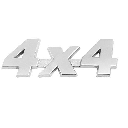 En Métal Motif 4x4 Auto voiture badge autocollant emblème Décor