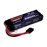 Traxxas 25C 7.4V 2S 2-Cell 5800mAh LiPo Battery Pack from Traxxas