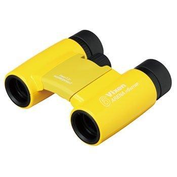 Vixen 双眼鏡 宙ガールL 6x21WP ダハプリズム式 6倍21口径 アリーナH 小型軽量 防水 イエロー 145379