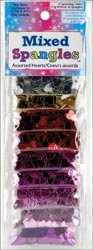 Sulyn Sequin Assortment 9 Pouch Sampler 27 Grams/Pkg-Star Spangles; 3 Items/Order
