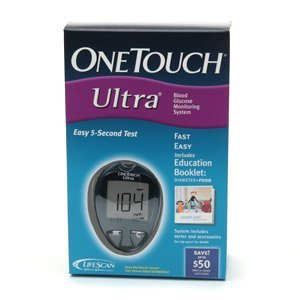 Cheap OneTouch Ultra Blood Glucose Monitoring System – Use Ultra Test Strips – Kit (LN020247)