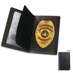 Concealed Weapon Badge and Case
