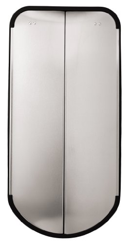 simplehuman Butterfly Step Trash Can, Fingerprint-Proof Brushed Stainless Steel, 45 Liters /12.5 Gallons