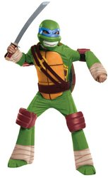 Kid's Costume: TMNT Leonardo Deluxe- Medium