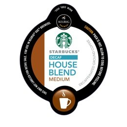 32 Count - Starbucks Decaf House Blend Coffee Vue Cup For Keurig Vue Brewers