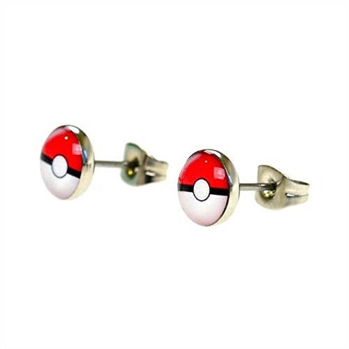 jewellery-of-lords-pair-of-7mm-pokemon-pokeball-stainless-steel-stud-earrings-disk-saucer-pikachu