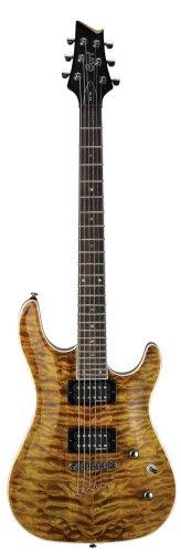 Cort - guitare electrique kx1qte - oeil de tigre - destockage guitares
