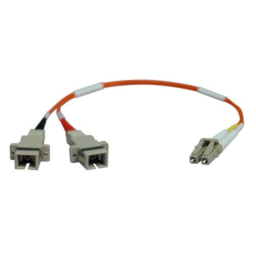 Tripp Lite Duplex Multimode 62.5/125 Fiber Adapter (Lc-Sc M/F) 0.3M (1-Ft.)(N458-001-62)