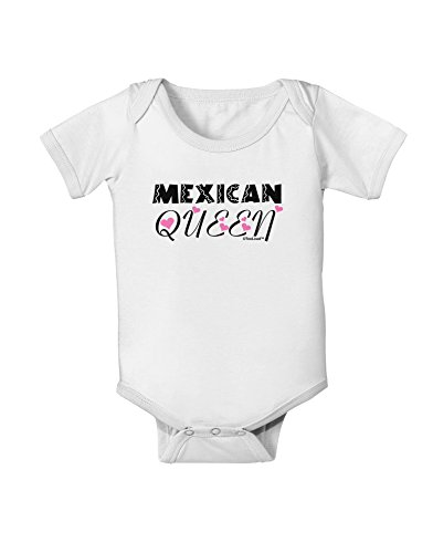 TooLoud Mexican Queen - Cinco de Mayo Baby Romper Bodysuit