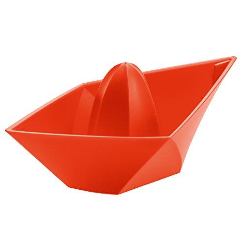 Koziol 3682633 Ahoi Presse-Citron Plastique Orange 8 x 18 x 6,3 cm