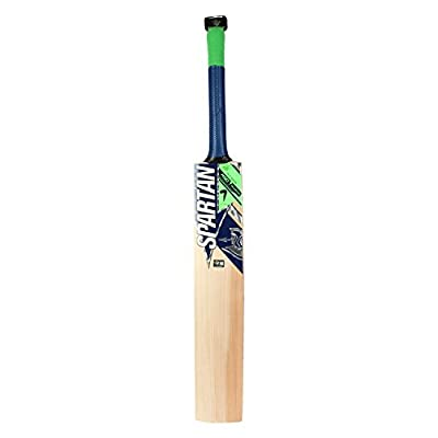 Spartan MSD-Helicopter English Willow Cricket Bat, Short Handle