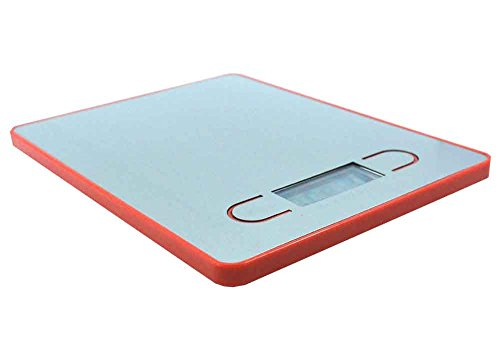 ARETOP® Balance de Cuisine Numérique en Design Ultra Svelte avec Plateforme en Acier Inox (Jaune)