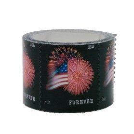usps forever stamps star spangled banner roll of 100 fireworks toys games. Black Bedroom Furniture Sets. Home Design Ideas