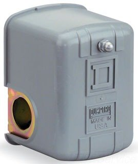 Square D 9013Fsg2J21P Pressure Switch