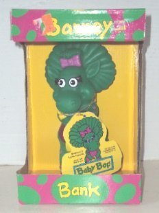 "Barney The Dinosaur ""Baby Bop"" Coin Bank - 1"
