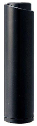 マーナ スリムスティック 洋服用コロコロRクリーナー ブラック W570BK