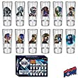 DOCTOR WHO 50th Anniversary Glass Set of 12