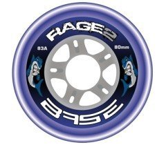 BASE Hockey Outdoor Rolle Rage2- 4-er Set