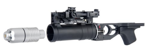 Lancer Tactical Ca-10 Ak-74U Full Metal Green Gas Grenade Launcher For Ak Series Airsoft Guns