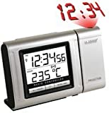 PROJECTION CLOCK + THERMOMETER