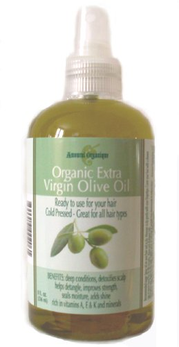 Organic Extra Virgin Olive Oil - Ready to Use for Your Hair