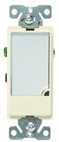 Cooper Wiring Devices 7737A-Box 1-Watt 120-Volt Full Led Hallway Nightlight Heavy Duty Grade, Almond front-927481