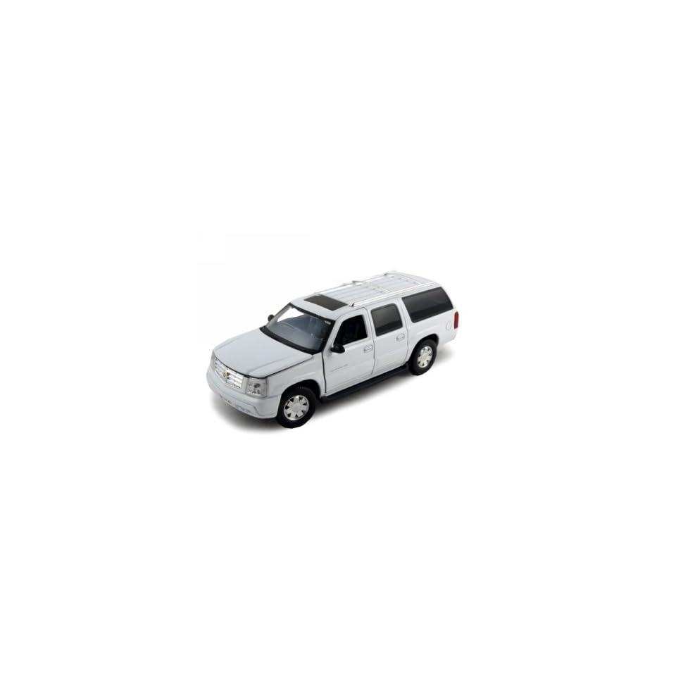 2004 Cadillac Escalade ESV Diecast Model Car 1/32 White